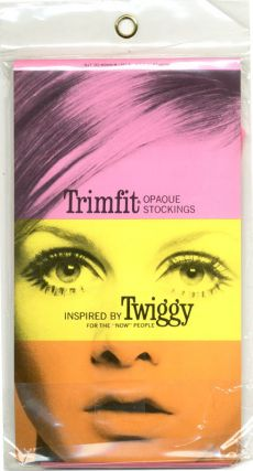 Trimfit Tights Inspired by Twiggy for the 'Now' People. TWIGGY