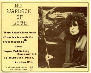 """Original flyer announcing Tyrannosaurus Rex at the Free Trade Hall, Manchester, 22nd February, 1969, together with a NEMS Enterprise programme produced for the tour (titled """"For The Lion And The Unicorn In The Oak Forests Of Faun""""), for which this concert was the fourth date."""