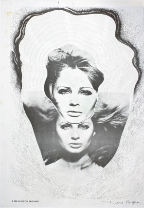 'Double head' poster (London: Big O Posters, 1967). David VAUGHAN