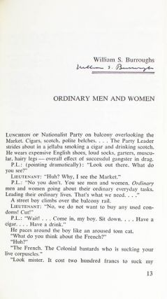 """""""Ordinary Men and Women"""", in NEW AMERICAN STORY."""