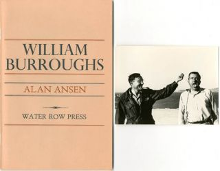 William Burroughs. Alan ANSEN
