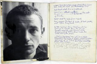 Five manuscript notebooks kept by Piero Heliczer between 1960 and 1962, together with a spiral bound sketchbook containing 28 collages dating from the same period.