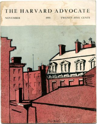 THE HARVARD ADVOCATE Volume CXXVIII No. 1, Volume CXXIX No. 2, and Volume CXXIX No. 3 (Cambridge, Mass.: September - December 1955).