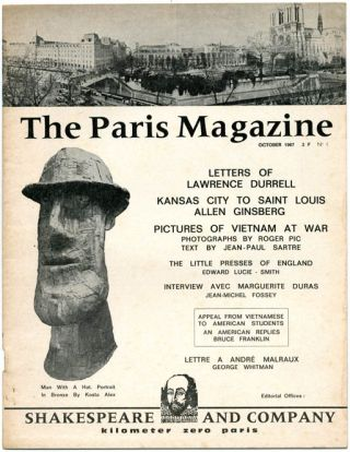 THE PARIS MAGAZINE #1 (Paris: Shakespeare and Company, October 1967) - all published