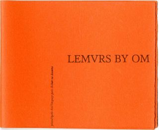 UNUSED COVER FOR 'LEMURS' BY OM