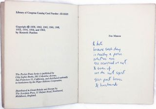 The Love Poems of Kenneth Patchen.