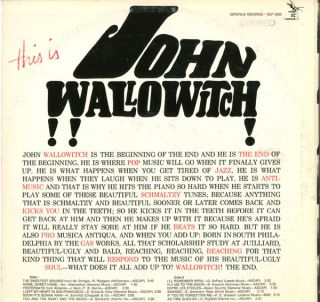 This Is John Wallowitch!!!