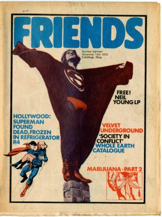 FRIENDS #13 (London: November 13, 1970
