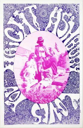HAIGHT-ASHBURY LOVES YOU. Original psychedelic poster, designed by Joseph Gomez