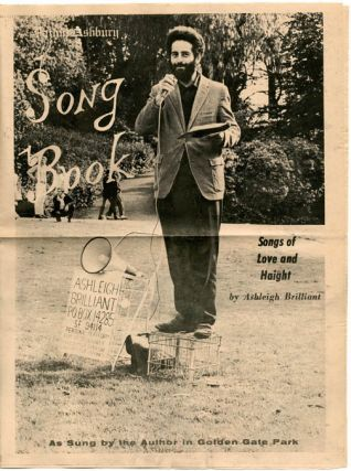 Haight Ashbury Song Book: Songs of Love and Haight (As Sung by the Author in Golden Gate Park)....