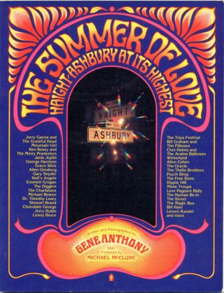 The Summer of Love. Haight-Ashbury at its Highest. Gene ANTHONY