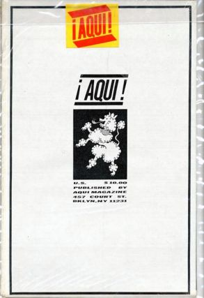 ¡AQUI! Magazine No. 7 - General Idea (Brooklyn, NY: 1985).