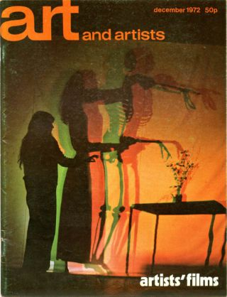 ART AND ARTISTS #81 - Artists' Films (London: December 1972