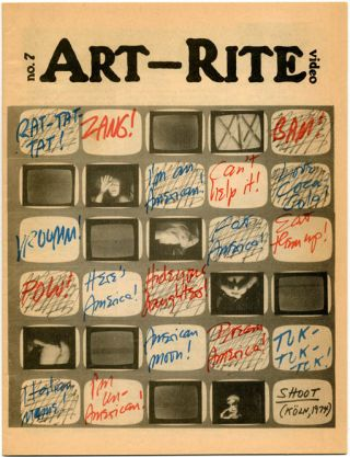 ART-RITE #7 (NY: Art-Rite Publishing Co., Winter/Spring, 1975-76