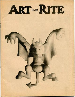 ART-RITE #11-12 (NY: Art-Rite Publishing Co., Winter/Spring, 1975-76