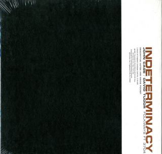 Indeterminacy: New Aspect of Form in Instrumental and Electronic Music.