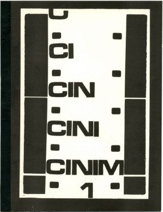 CINIM #1-2 (of 3 published