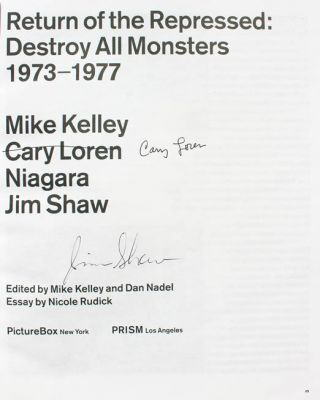 Return of the Repressed: Destroy All Monsters 1973-1977.