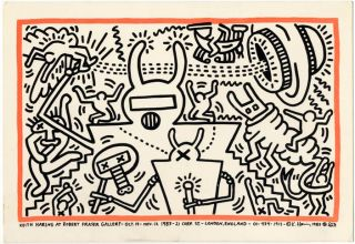 Keith Haring at Robert Fraser Gallery. Keith HARING