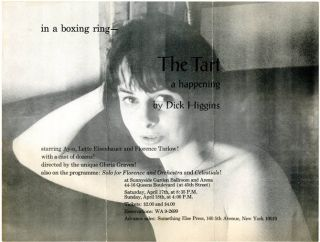 The Tart - a happening. Dick HIGGINS