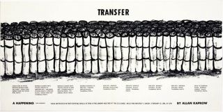 Transfer. A Happening (For Christo). Allan KAPROW