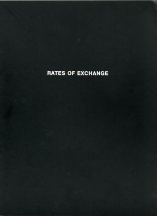 Rates of Exchange. Allan KAPROW