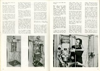 """Computers & Us: It's all in the mind"", a 5pp. interview with Bruce Lacey in UNIT #12 (University of Keele: December 1968)."