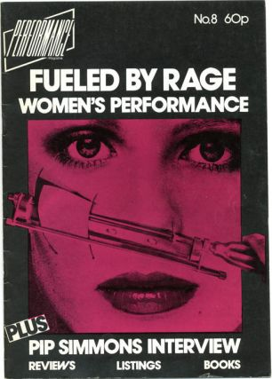 PERFORMANCE MAGAZINE #1-21 (London: June 1979 - December/January 1983