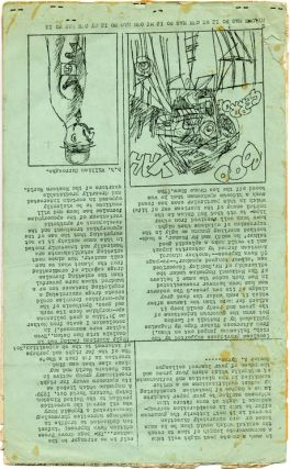 """""""The Last Words of Dutch Schultz"""" (first appearance) and """"Letter to Sunday Times"""" in MY OWN MAG #12 (Barnet, Herts: May 1965)."""