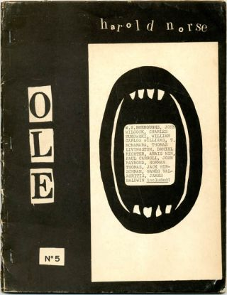 """From William S. Burroughs, Writing of Norse's Exhibition in Paris of Cosmographs"" in OLE #5 -..."