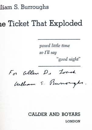 The Ticket That Exploded.