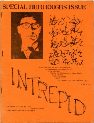 INTREPID #14/15 (Buffalo, NY: Winter 1969). William S. BURROUGHS, contributes