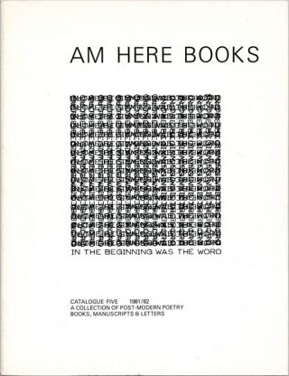 In The Beginning Was The Word. A Collection of Post-Modern Poetry Books, Manuscripts & Letters....