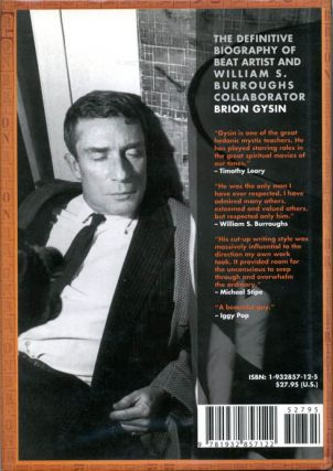 Nothing Is True Everything Is Permitted: The Life of Brion Gysin.