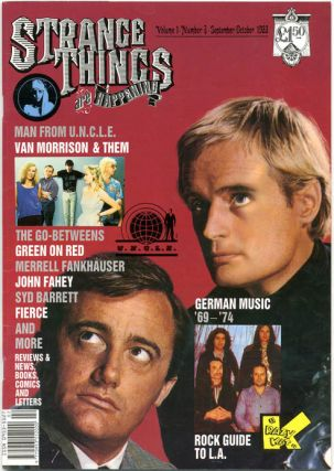 STRANGE THINGS ARE HAPPENING #1-7 (St. Albans, Herts.: March 1988-Spring 1990) - all published.