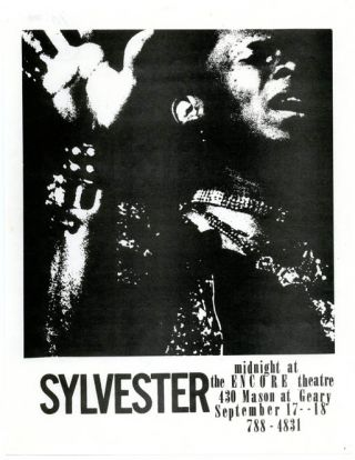 SYLVESTER - MIDNIGHT AT THE ENCORE THEATRE