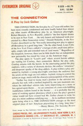 THE CONNECTION + London Theatre programme.