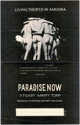 PARADISE NOW - LIVING THEATER IN AMERIKA