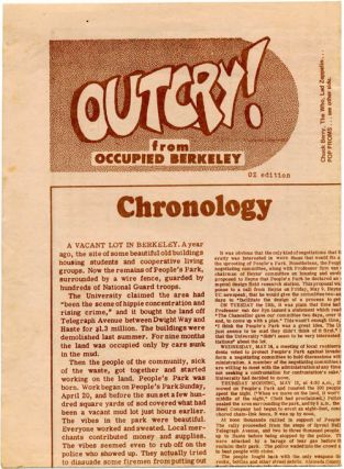 """""""The Chart is the Map - Paradise Now!"""" in Oz #21 (London: OZ Publications Ink Ltd., May 1969) + original photographic negative of the diagram used in the magazine's printing of it (38.5x50.5cm.)."""