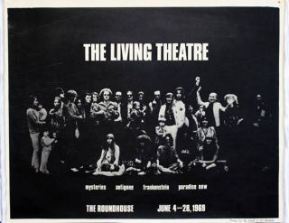 THE LIVING THEATRE AT THE ROUNDHOUSE